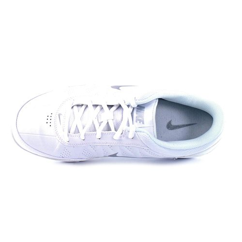 Nike Mens Air Ring Leader Low Basketball Shoes White / Silver MFnNPB9