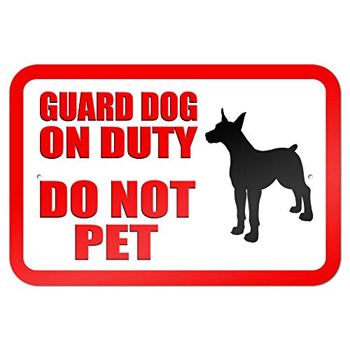 Guard Dog on Duty Do Not Pet 9