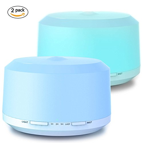 Aromatherapy Diffusers for Essential Oils 2 Pac...