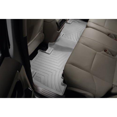 Grey 460852 WeatherTech Custom Fit Rear FloorLiner for Toyota Prius