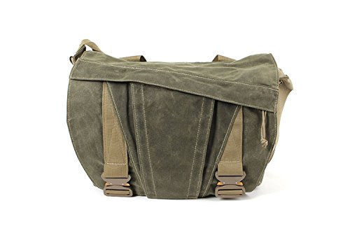 Discreet Messenger Bag (Surplus Green) by ITS Tactical