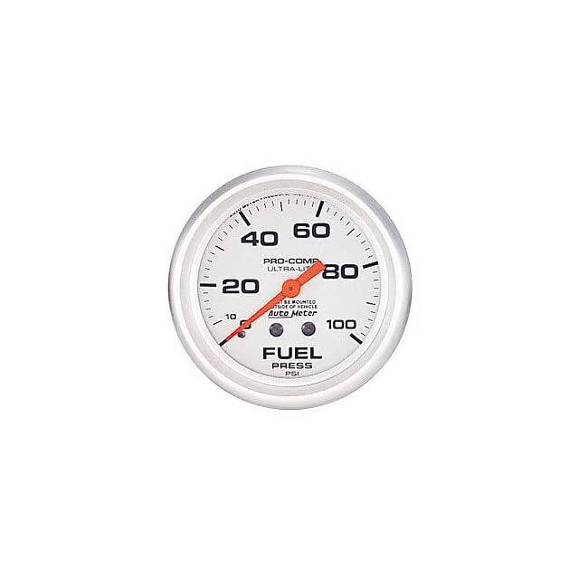 Auto Meter 4412 Ultra Lite Mechanical Fuel Pressure Gauge