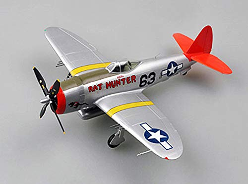 Easy Model P-47D Rat Hunter 1/48 Aircraft Finished Plane Non diecast ()