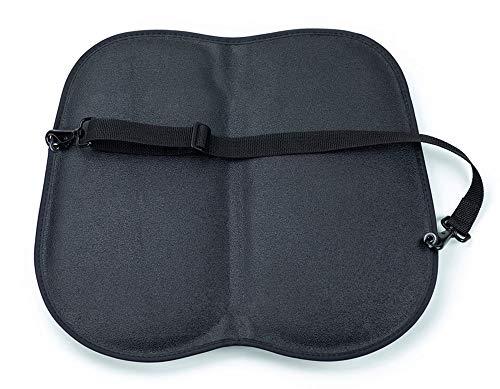 amiGO Travel Seat Cushion, Gel & Foam Portable Cushion, Folds in Half, Versatile Handle, Relieves Back Pain, Coccyx-Cutout by amiGO (Image #3)