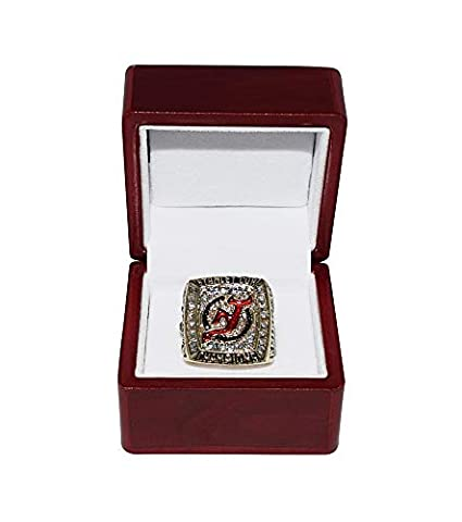NEW JERSEY DEVILS (Jeff Friesen) 2003 STANLEY CUP FINALS WORLD CHAMPIONS  Collectible High- 06bc39f86
