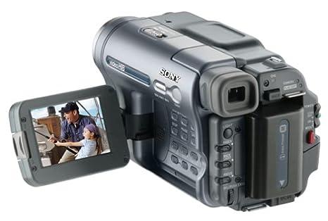 amazon com sony ccd trv128 20x optical zoom 990x digital zoom hi8 rh amazon com sony video hi8 handycam manual español sony video 8 handycam manual