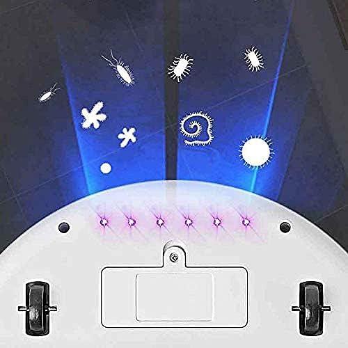 Art Jian Robot de Nettoyage Automatique Robot de Balayage Intelligent, Robot de Balayage Automatique Fonction d\'aspirateur Intelligent Portable à la Maison 4 en 1