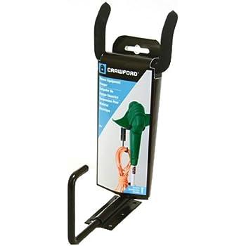 Crawford CMPE-6 Medium Duty Garden Power Tool Hanger, Black