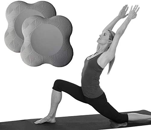 ZEALTOP Yoga Knee Pad Cushion Extra Thick for Knees Elbows Wrist Hands Head Foam Yoga Pilates Work Out Kneeling pad