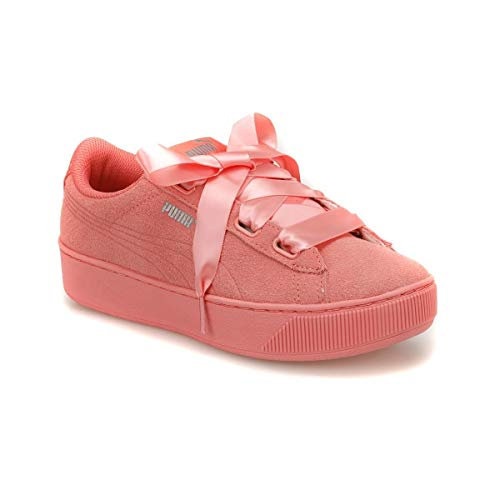 Black Kids 01 Rosa Vikky 366418 Trainers Ribbon Sneaker S Leather Puma Platform Women Pvwwq0
