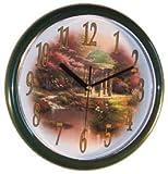 """Thomas Kinkade Pools of Serenity 10"""" Wall Clock"""
