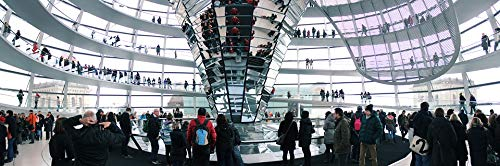 Photography Poster - Berlin, Reichstag, Dome, Government, 24