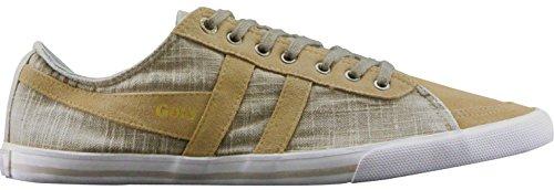 Gola Signore Quota Corso Canvas Fashion Sneaker Light Khaki Taglia 7
