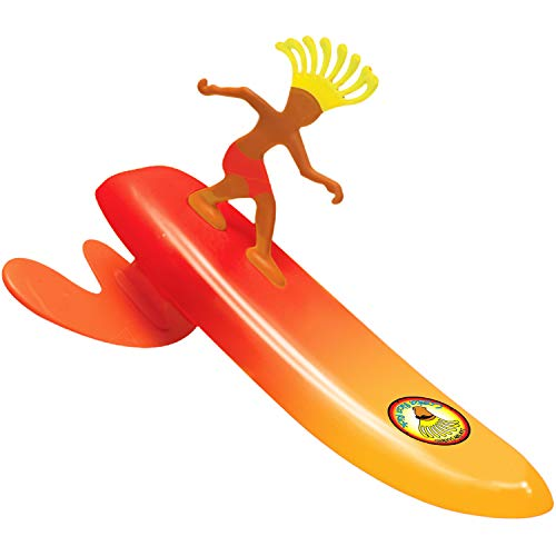 Surfer Dudes 2019 Edition Wave Powered Mini-Surfer and Surfboard Beach Toy - Costa Rica Rick