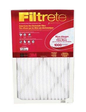 Filtrete Micro Allergen Defense Filter, MPR 1000, 14 x 24 x 1-Inches, 6-Pack