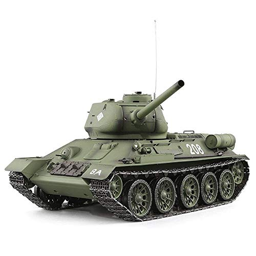 Xuess 2.4Ghz Battle Remote Control Panzer Tank 1:16 Scale Stunt Racing Tank with Sound Shoots Remote Control Tank Metal…