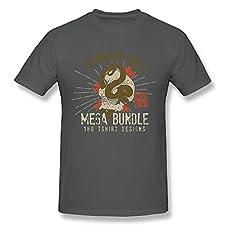 QIANGXINGWANG Men's T-Shirts Syaman Rulz's Mega Bundle Short Sleeve Top Tees Asp
