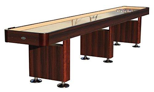 ''The Standard'' 14 Foot Shuffleboard Table in Espresso by Berner Billiards by Berner Billiards