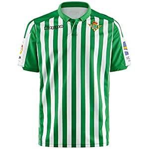 Amazon.com: Kappa Real Betis 2019-2020 - Camiseta de manga ...