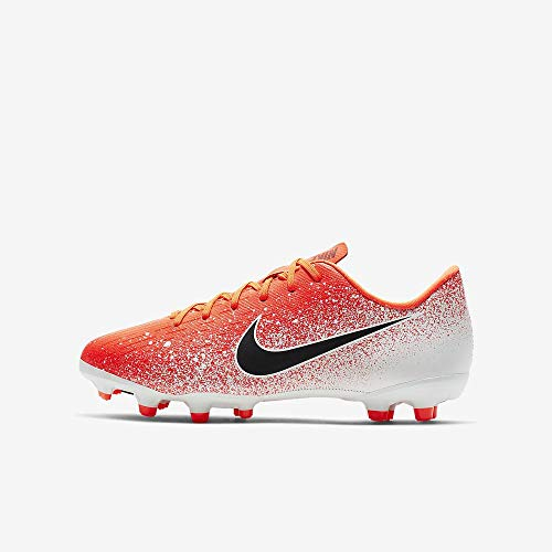 Nike Youth Mercurial Vapor XII Academy Multi Ground Soccer Cleats (4.5 Big Kid M US)