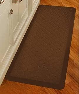 product image for WellnessMats Premium Anti-Fatigue Trellis Mat (6' x 2', Brown)