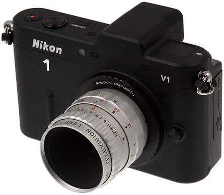 EXAKTA-Nik 1 Fotodiox PRO Lens Mount Adapter PRO J1 Mirrorless Cameras fits Nikon V1 Auto Topcon Lens to Nikon 1-Series Camera Exakta