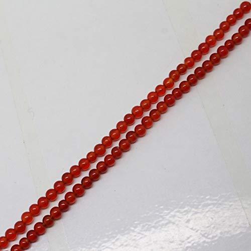 (Calvas 3-18mm Red Agates Sardonyx Round FA-Store Spacer Loose Beads 15