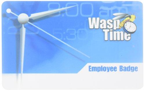 Mag Stripe Badges Seq 251-275 25 Badges for Wasptime Software