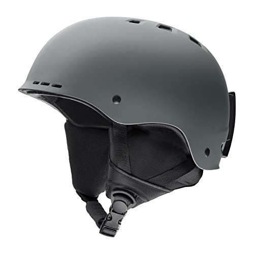 Smith Optics Holt Adult Ski Snowmobile Helmet - Matte Charcoal/Large