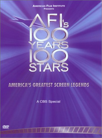 AFI's 100 Years, 100 Stars: American Film Institute (CBS Television Special) by Image Entertainment