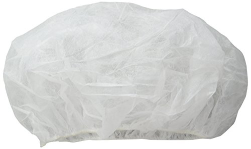 Dupont IC729SWH0002500B White Tyvek IsoClean Bouffant Cap, Universal (Pack of 250) by DuPont (Image #1)