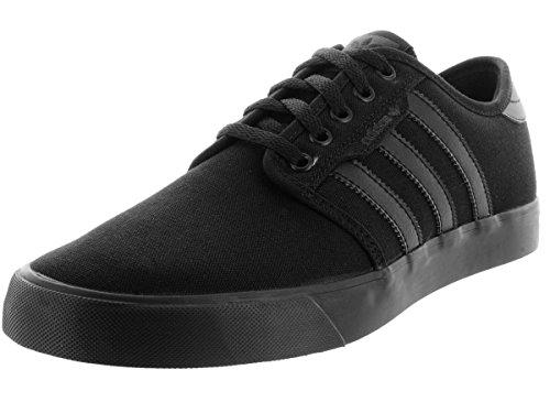 adidas Originals Men's Seeley Skate Shoe,Black/Black/Black,11 M US - Adidas Casual Shoes