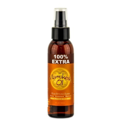Earthly Body Marrakesh Oil Hair Styling Elixer with Hemp & Argan Oils - 4 oz Marrakesh Oil by Earthly Body
