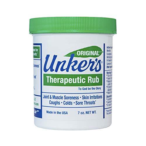 Unker's Unker's therapeutic rub 7 ounces, 7 Ounce ()