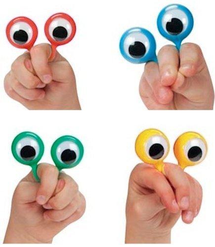 4 Googly Eye Finger Puppets (set of 4)