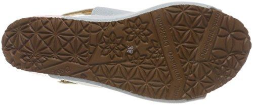 Shoes Desigual Femme Starlight Sandales 5098 Blue Plateforme Bleu swan Tigers Oqxqw7rda