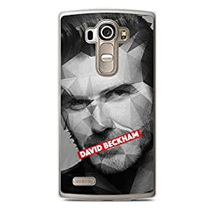 David Beckham LG G4 Transparent Edge Case - Heroes Collection