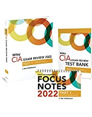 Wiley CIA 2022 Part 1: Exam Review + Test Bank + Focus Notes, Essentials of Internal Auditing Set
