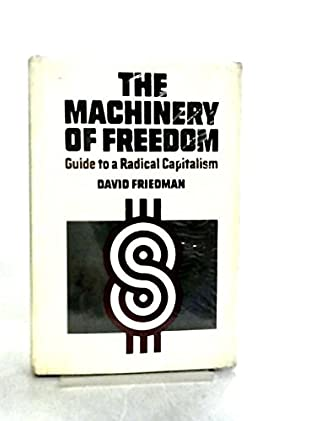 book cover of The machinery of freedom