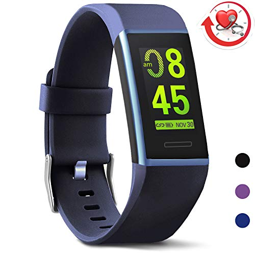 (MorePro X-Core Fitness Activity Tracker Color Screen, Sleep Tracker Waterproof Health Watch with Heart Rate Blood Pressure Monitor, Step Calorie Counter Exercise Pedometer for Women Men)