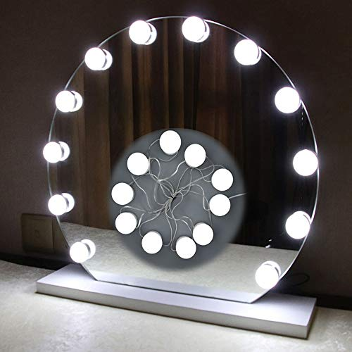 Hollywood Style Led Vanity Mirror Lights Kit Dimmable