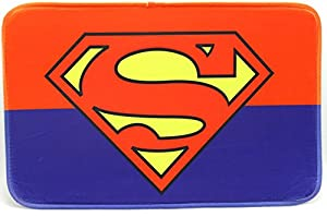 Superman Mats Cover Non Slip Machine Washable Outdoor Indoor Bathroom  Kitchen Decor Rug ,