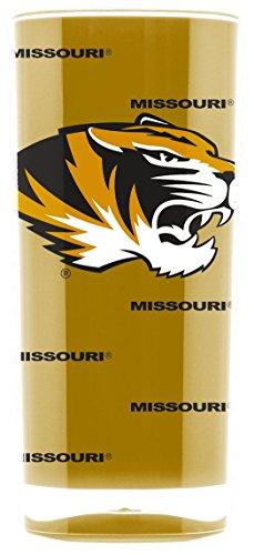 Missouri Tigers Tumbler - Square Insulated (16oz) (16 Tumbler Ounce Tigers)