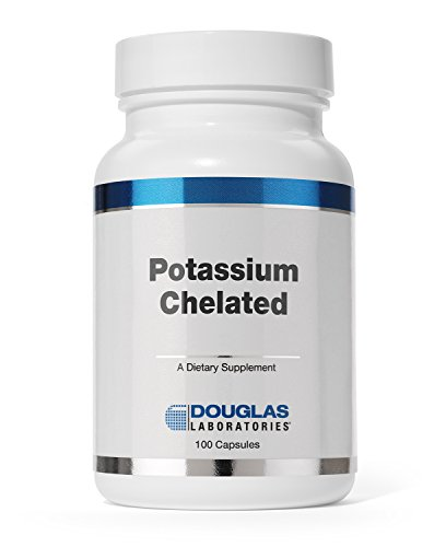 Douglas Laboratories - Potassium Chelated - Supports Nervous, Skeletal, and Circulatory System* - 100 Capsules