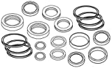 AW16444 New Seal Kit For John Deere Loader Bucket Cylinder 145 146 148 158 168