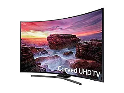 "SAMSUNG UN49MU650DFXZA LED Curved 4K 120 MR Full HD Smart TV, 49"" (Refurbished)"