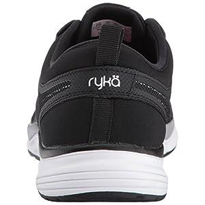 RYKA Women's Resonant NRG Cross-Trainer-Shoes, Black/White/Lime, 6 M US