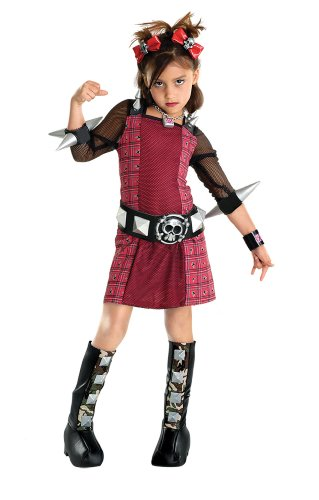 Riot Grrrl Halloween Costume child size 4-6