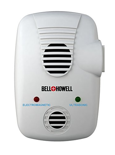 Bell + Howell Electromagnetic and Ultrasonic Pest Repeller with AC Outlet