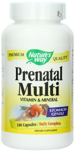 Naturaleza de manera Prenatal completa, 180 cápsulas
